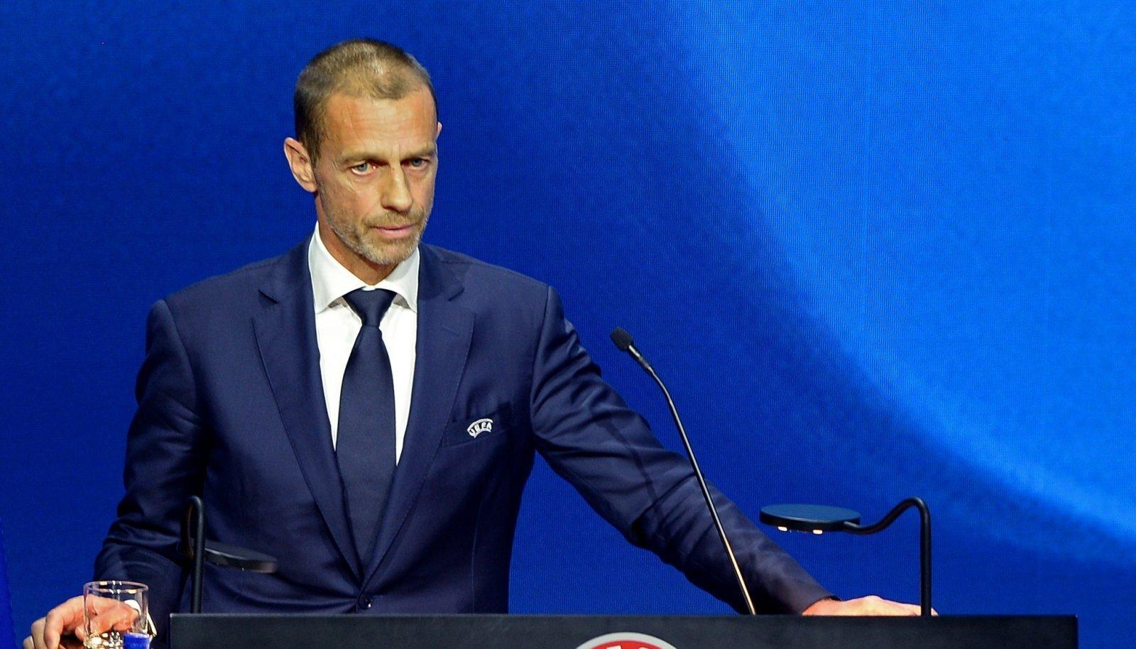 UEFA president Aleksander Čeferin tegi lõppeval nädalal oma nime tunduvalt kuulsamaks.