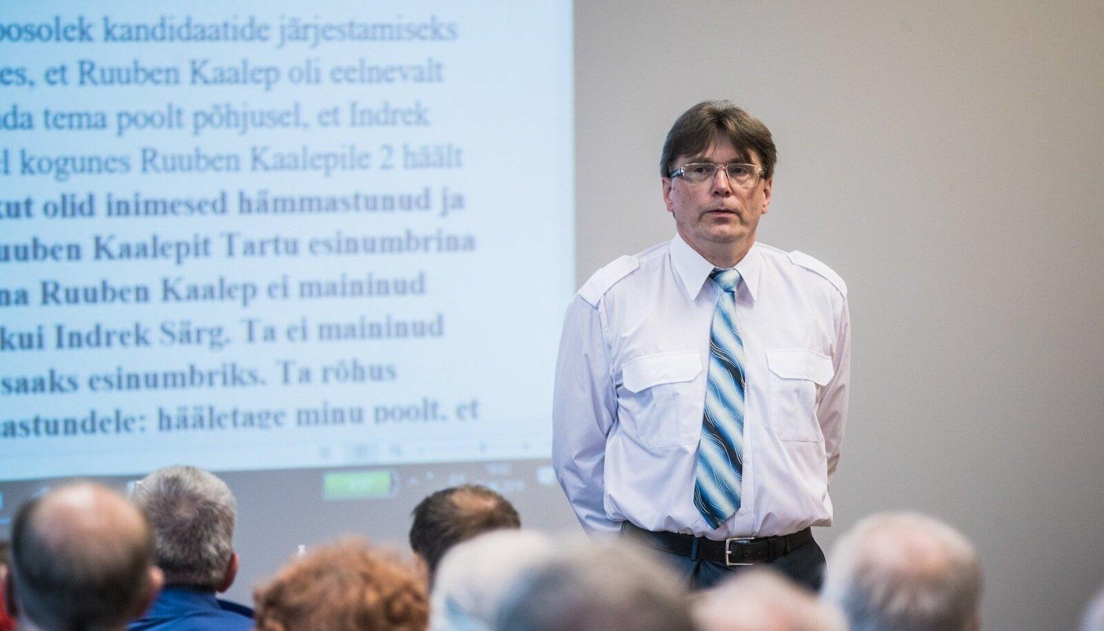 Indrek Särg selgitas EKRE-s tekkinud sisetüli tausta kronoloogiliselt ja mahuka tekstidokumendi abiga.