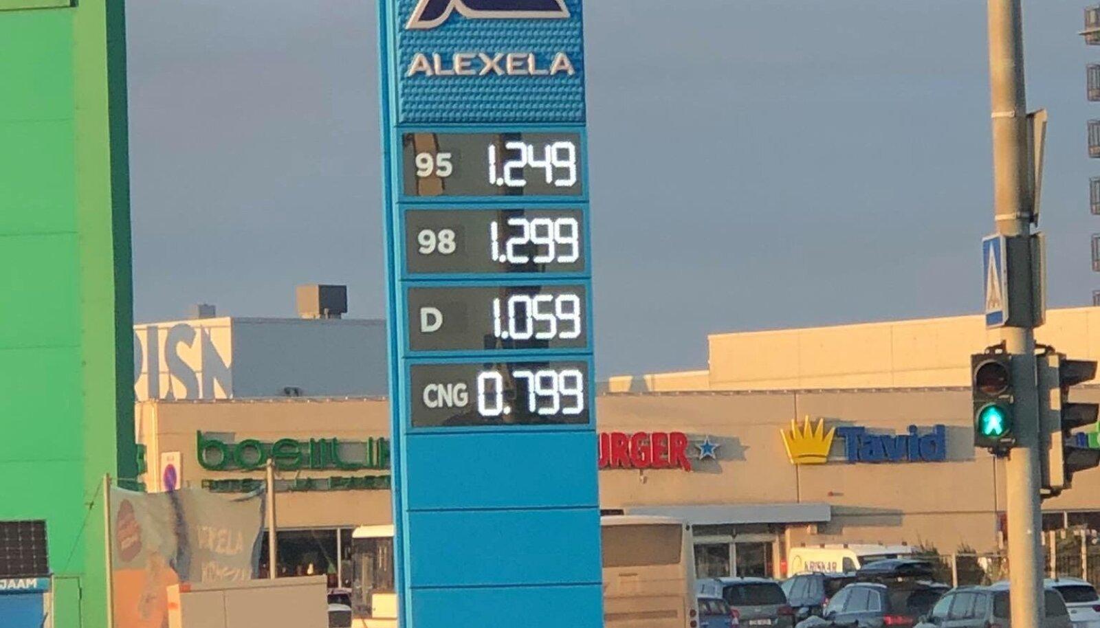 Kütusemüüjad tõstsid hinda.