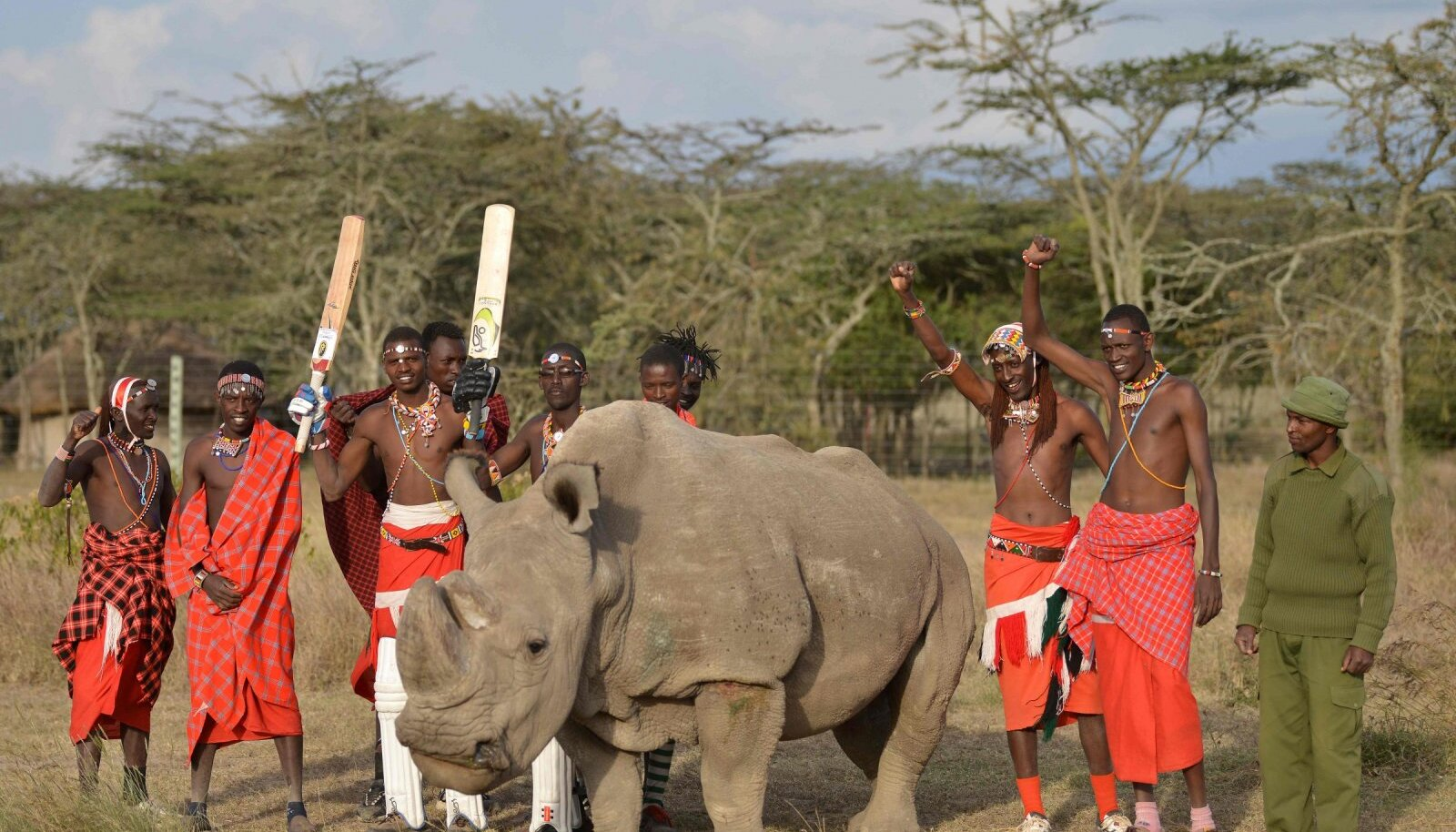 Sudan koos masaidega.