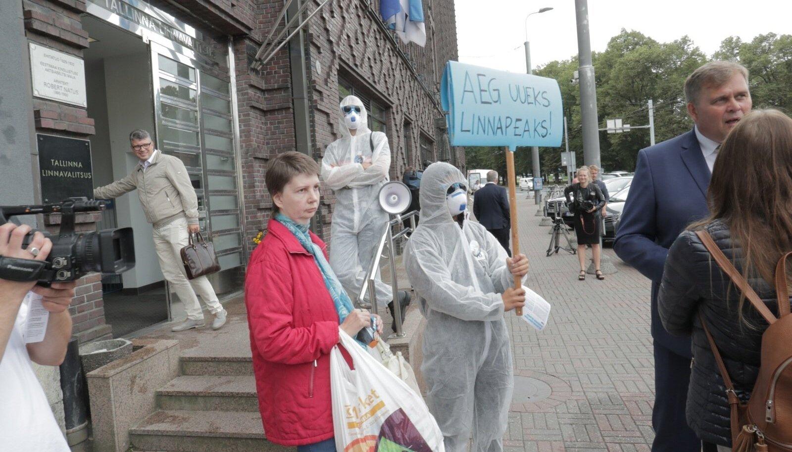 IRL-i Tallinna linnapeakandidaat Raivo Aeg tutvustab oma valimisprogrammi
