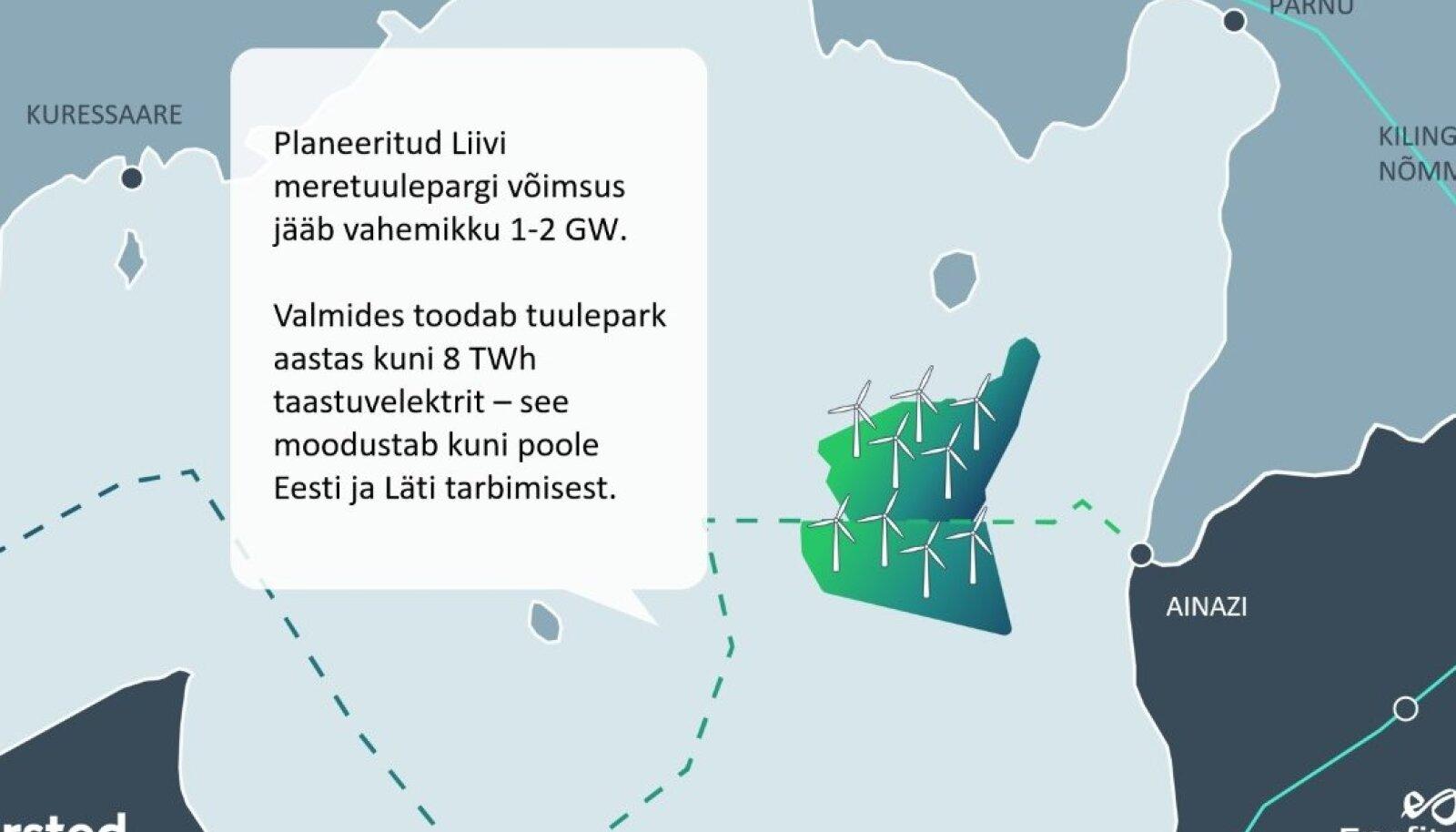 Planeeritud Liivi meretuulepark