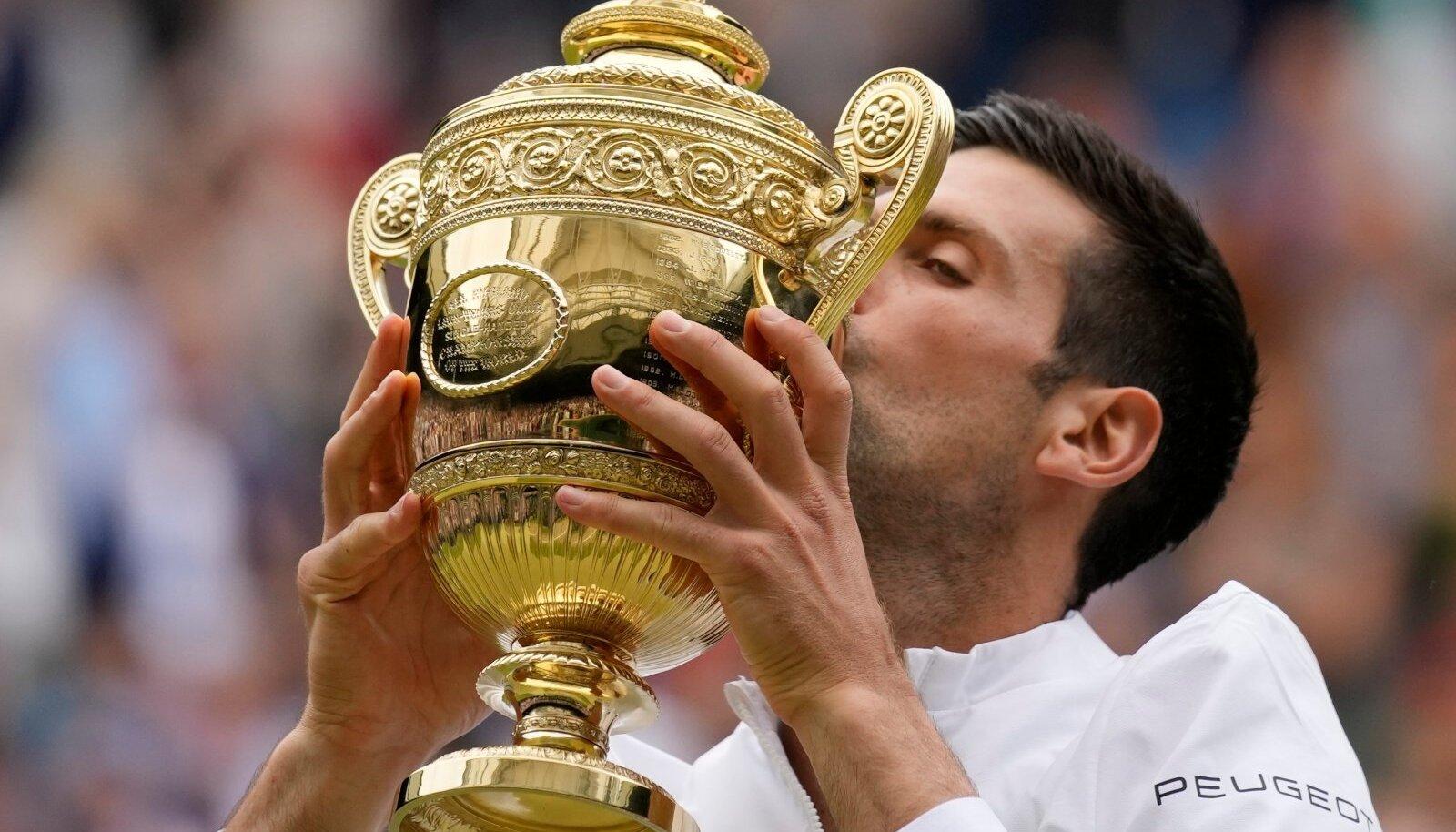 Oma kuuenda Wimbledoni võitnud Novak Ðokovićist hakkab saama ajaloo parim tennisist.