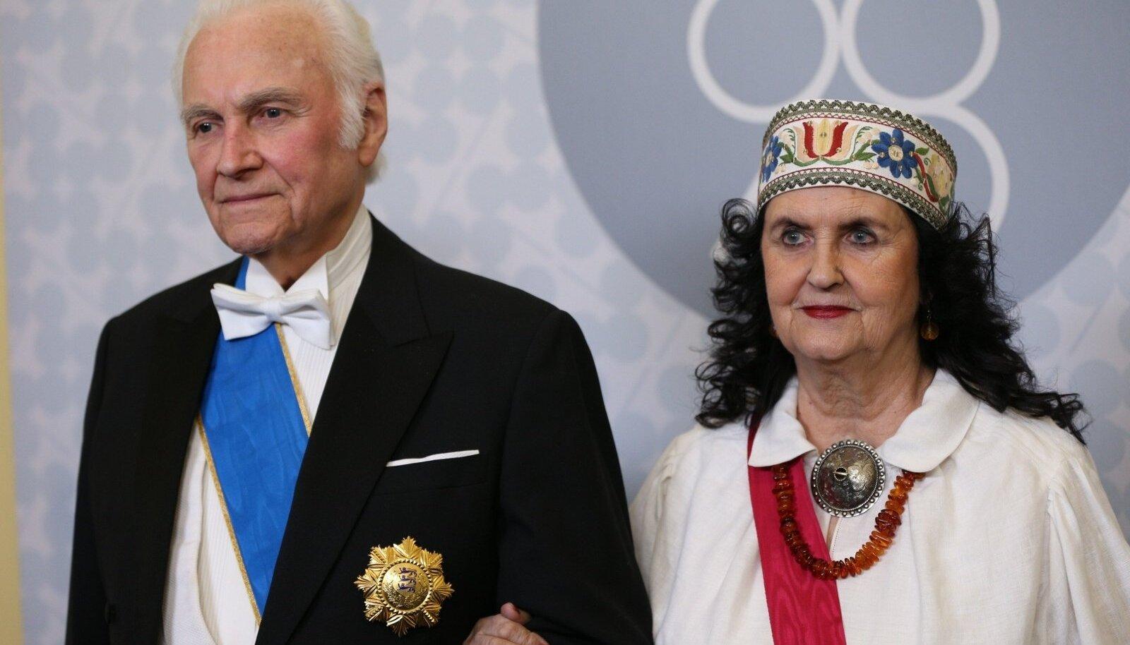 Arnold Rüütel ja Ingrid Rüütel