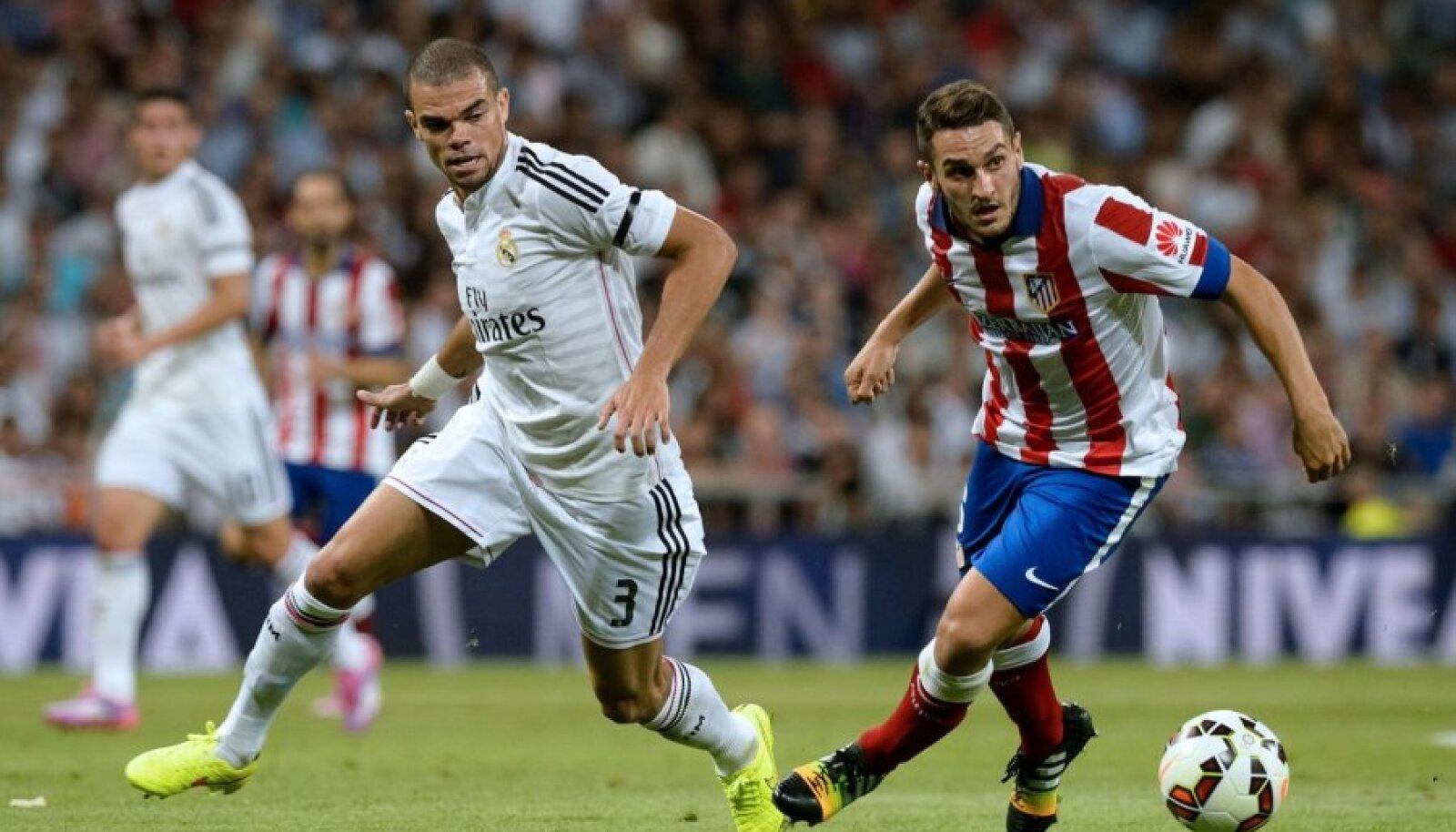 Kohtumine Madridi Real - Madridi Atletico