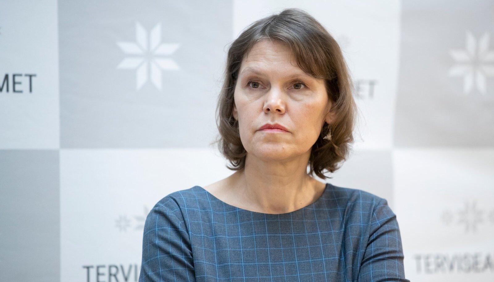 Pressikonverents Terviseametis, Merike Jürilo