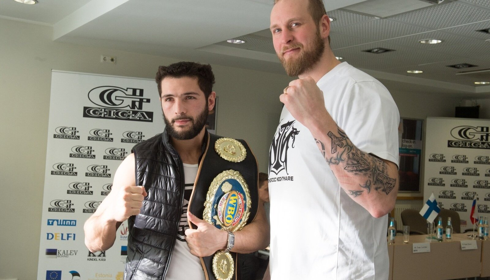 Estonian Boxing Night pressikonverents