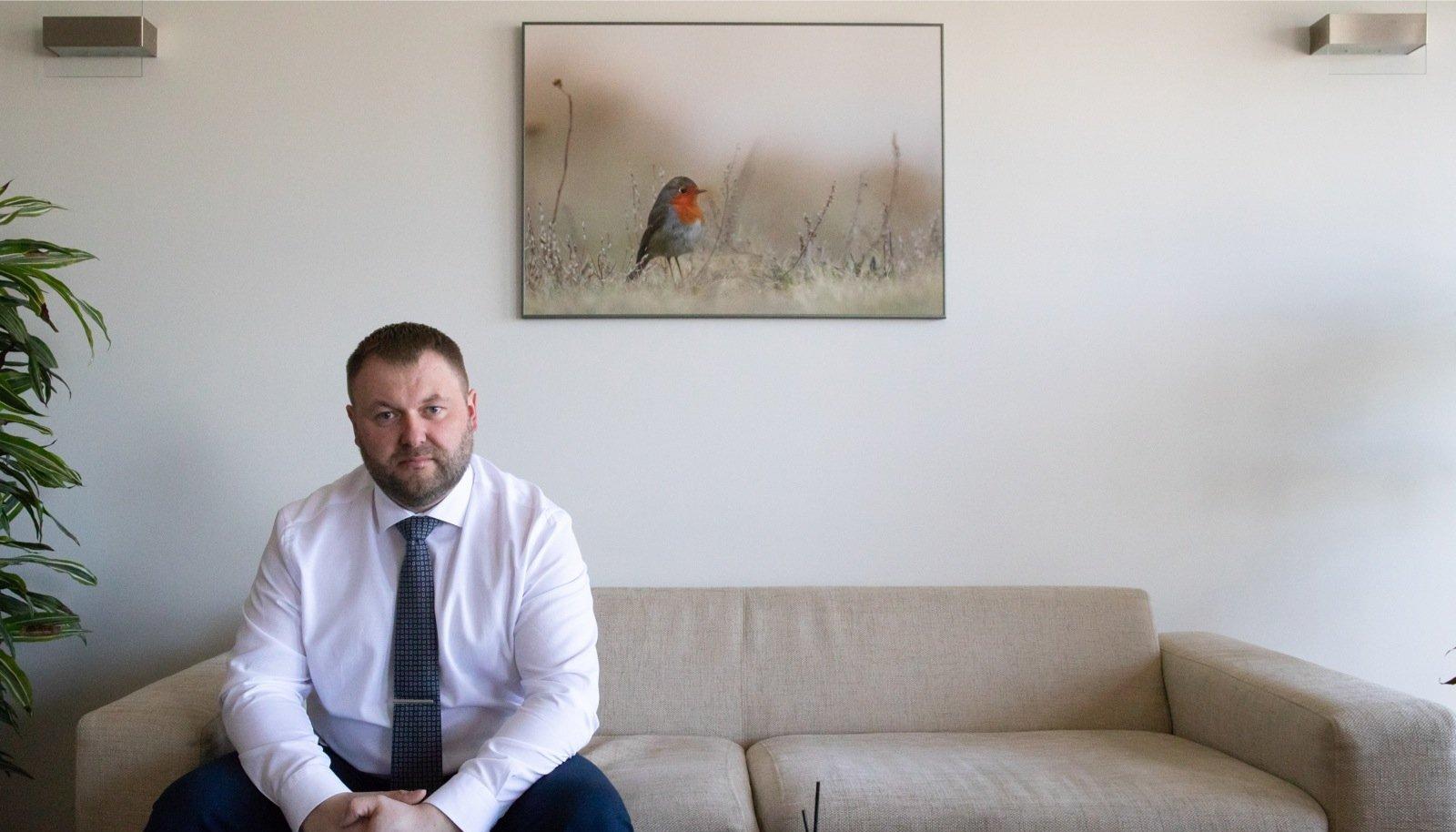 Keskkonnaminister Rene Kokk on proovinud terve elu elada nii, et ei prügista loodust.