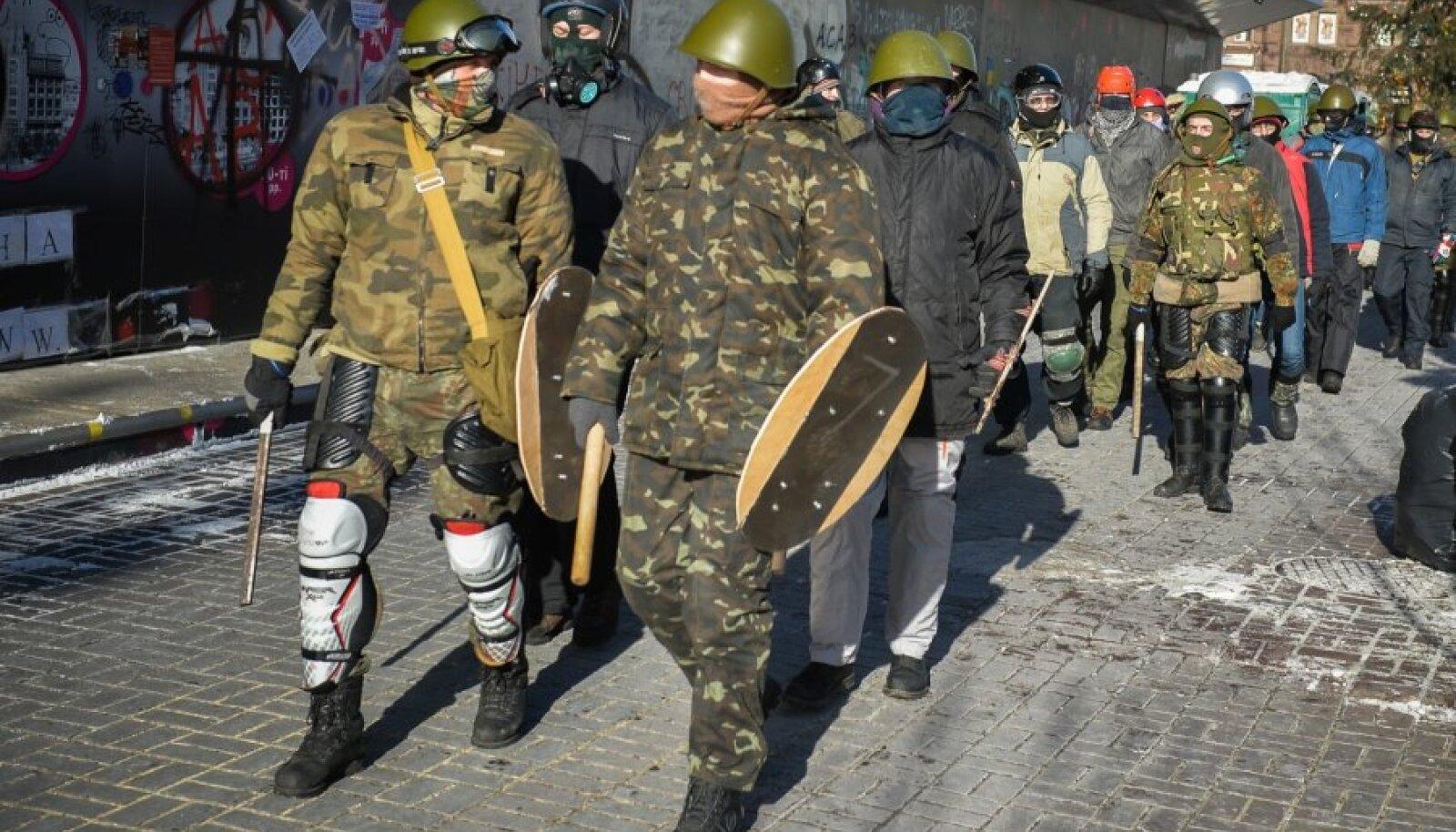 Kiievi südalinnas neljapäeval