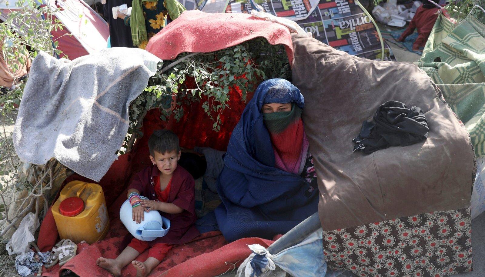Talibani eest põgenejad Kabulis