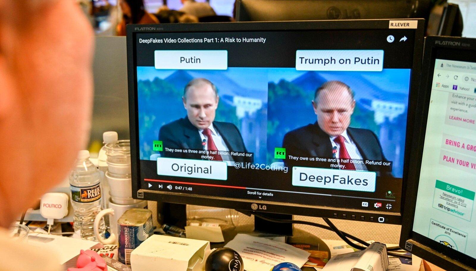 Deepfake tööriistad on muutumas aina täpsemaks ning usutavamaks. Deepfake'idest kujuneb tõenäoliselt lähitulevikus aina suuremaks peavaluks valede eraldamisel tõest.