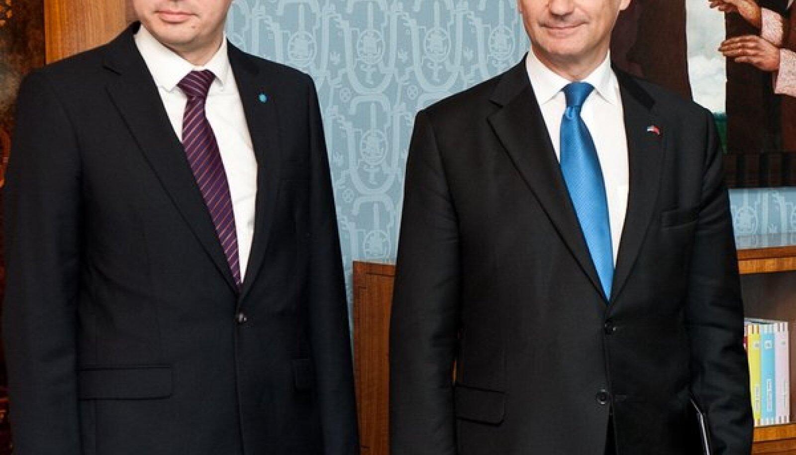 Pilt on tehtud päeval, mil Urmas Reinsalu sai kaitseministriks
