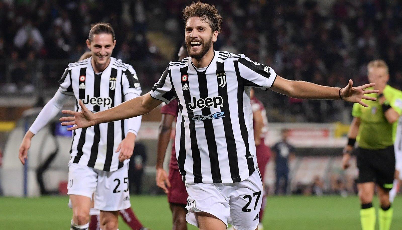 Manuel Locatelli tõi Torino Juventusele võidu.