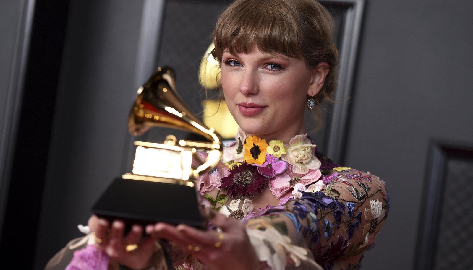 Taylor Swift Grammy auhinnaga