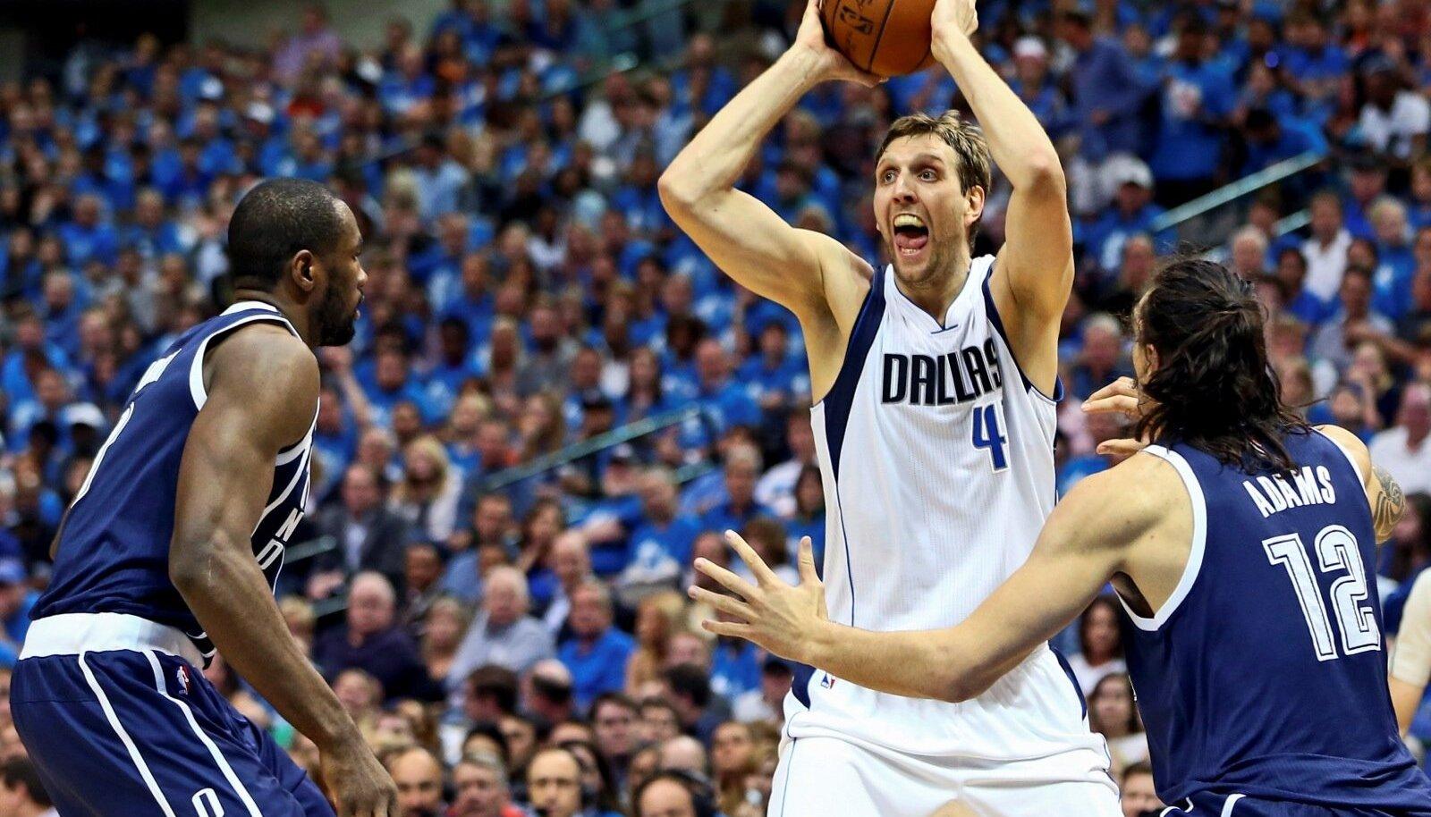 FILE PHOTO: NBA: Playoffs-Oklahoma City Thunder at Dallas Mavericks