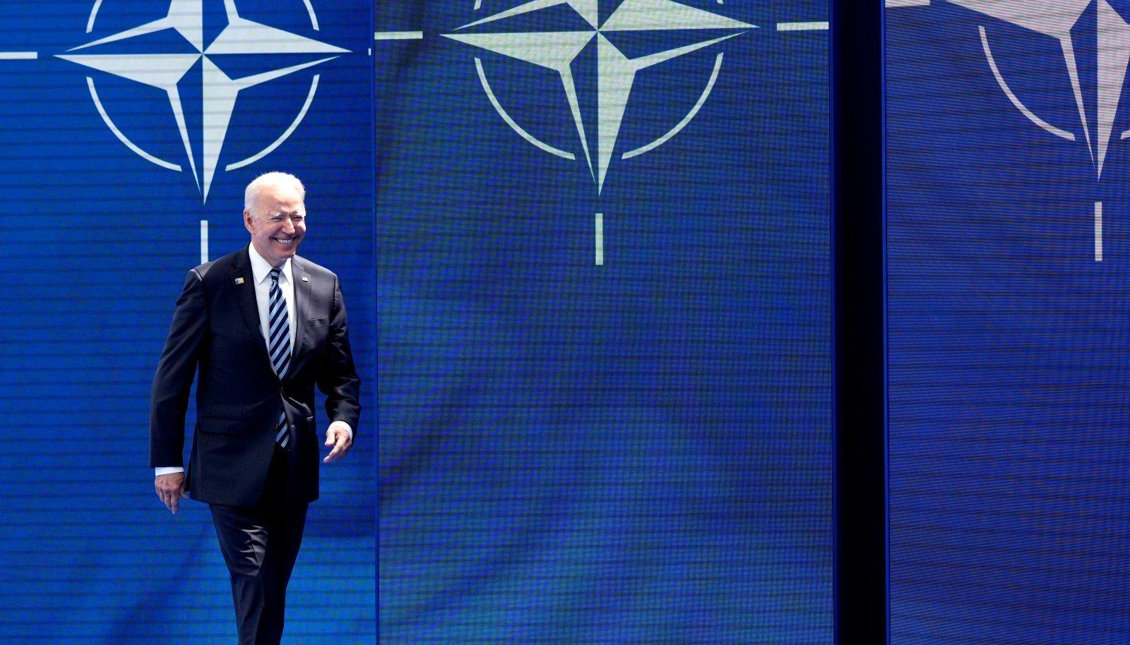 USA presidendi Joe Bideni kogu olekust õhkus NATO riikide jaoks ainult positiivseid signaale.