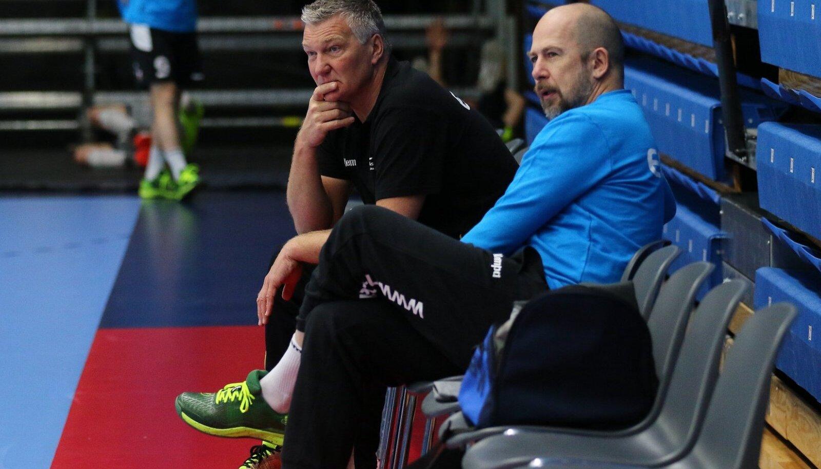 Eesti rahvusmeeskonna treenerid Thomas Sivertsson ja Janne Ekman pikendasid Austria-mängu eel lepingut.