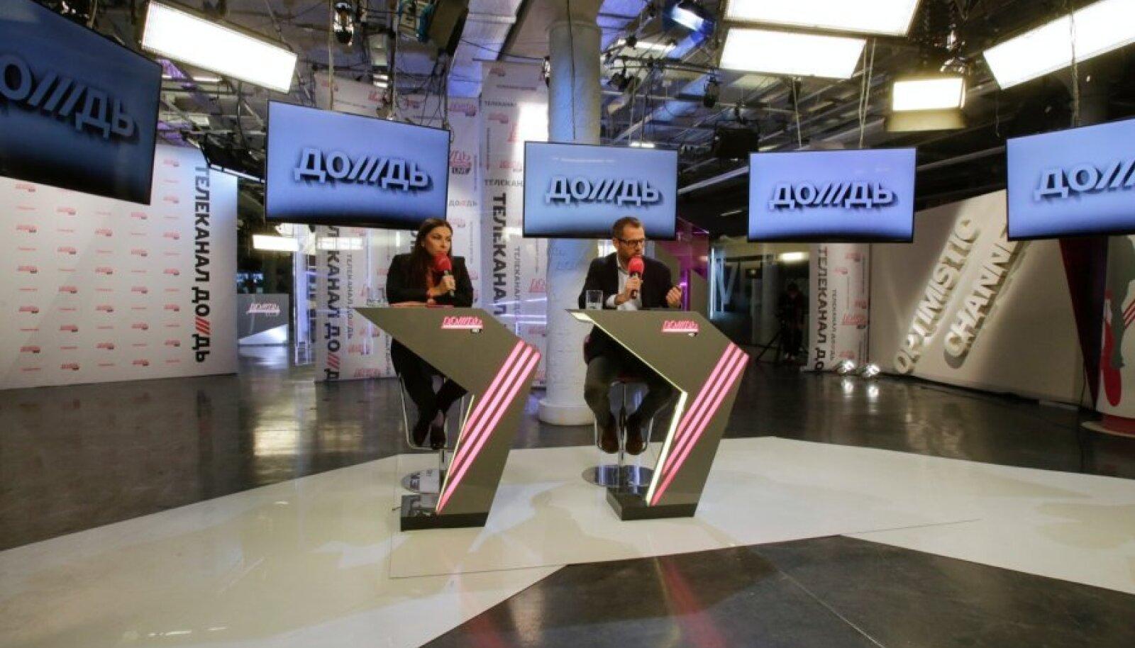 Venemaa teeb kõik selleks, et sulgeda võimu kritiseerinud telekanal Dožd.