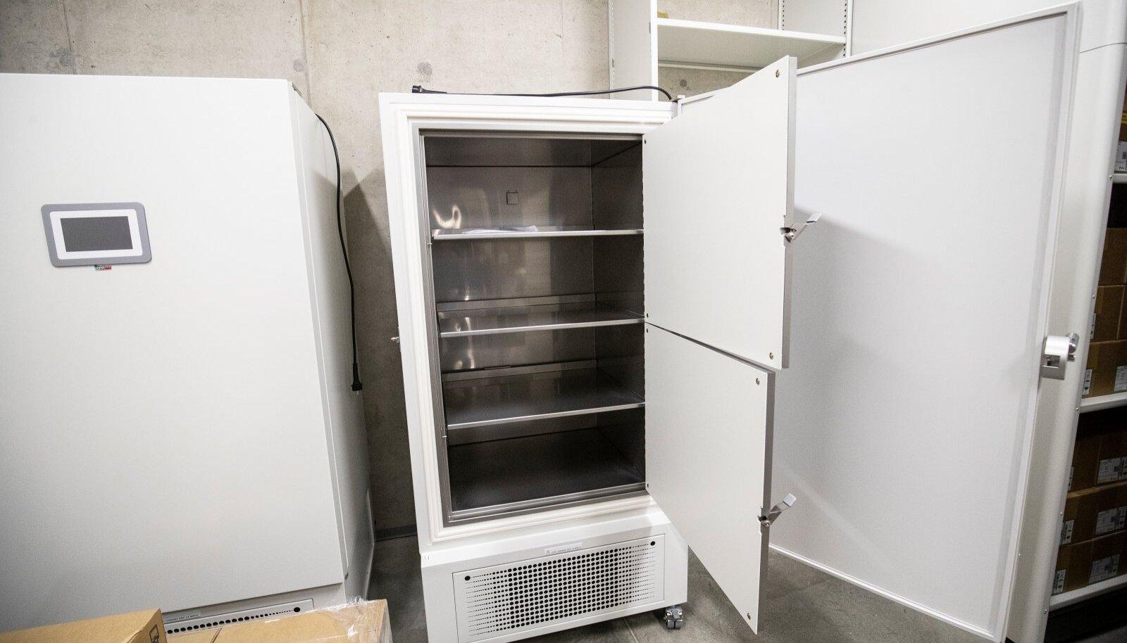 Vaktsiinide hoiustamise külmkapp