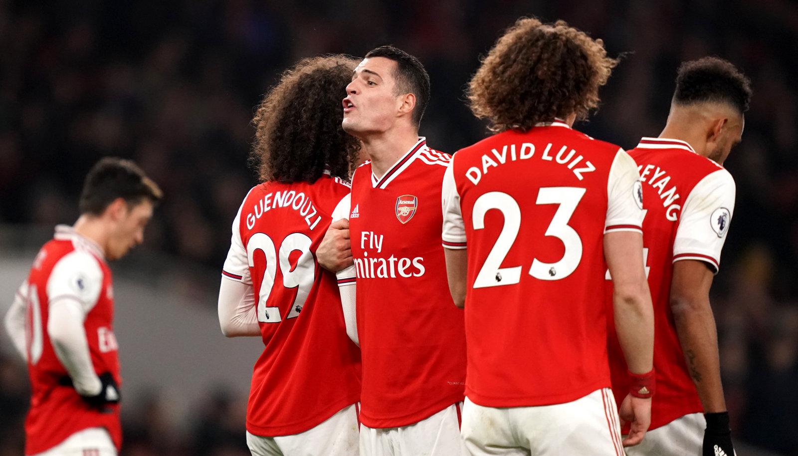 Arsenali hooaeg on seni olnud kannatuste rada.