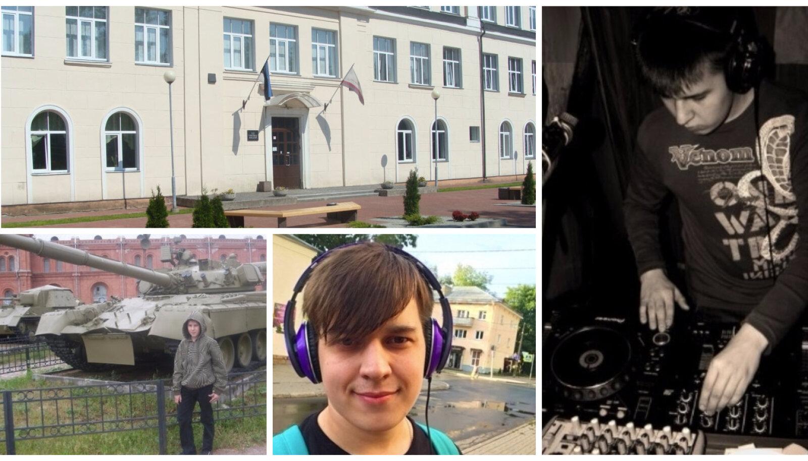 Kollaaž - TTÜ Virumaa kolledž ja Aleksei Vassiljev