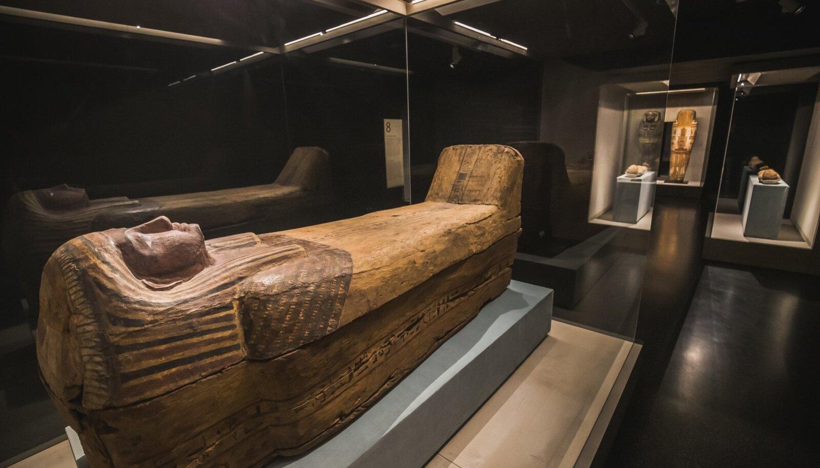 """Näitus """"Egiptuse hiilgus"""" pidulik avamine Kumus"""