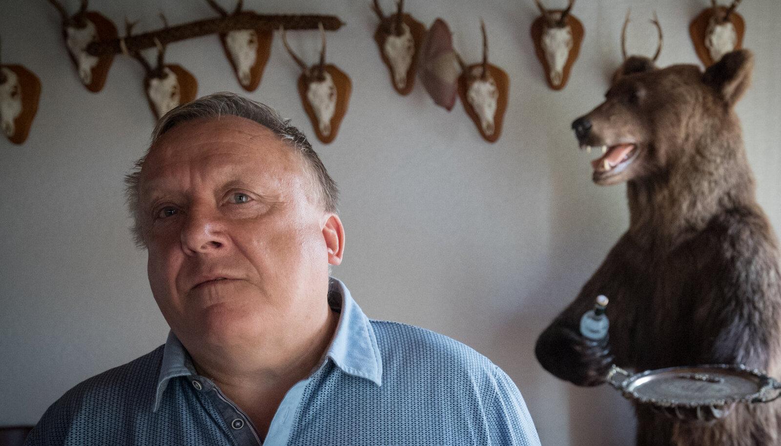 KOHALIK KUNINGAS: Hoolimata praamimonopoli kaotusest on Vjatšeslav Leedo jätkuvalt üks Saaremaa mõjukamaid ärimehi.