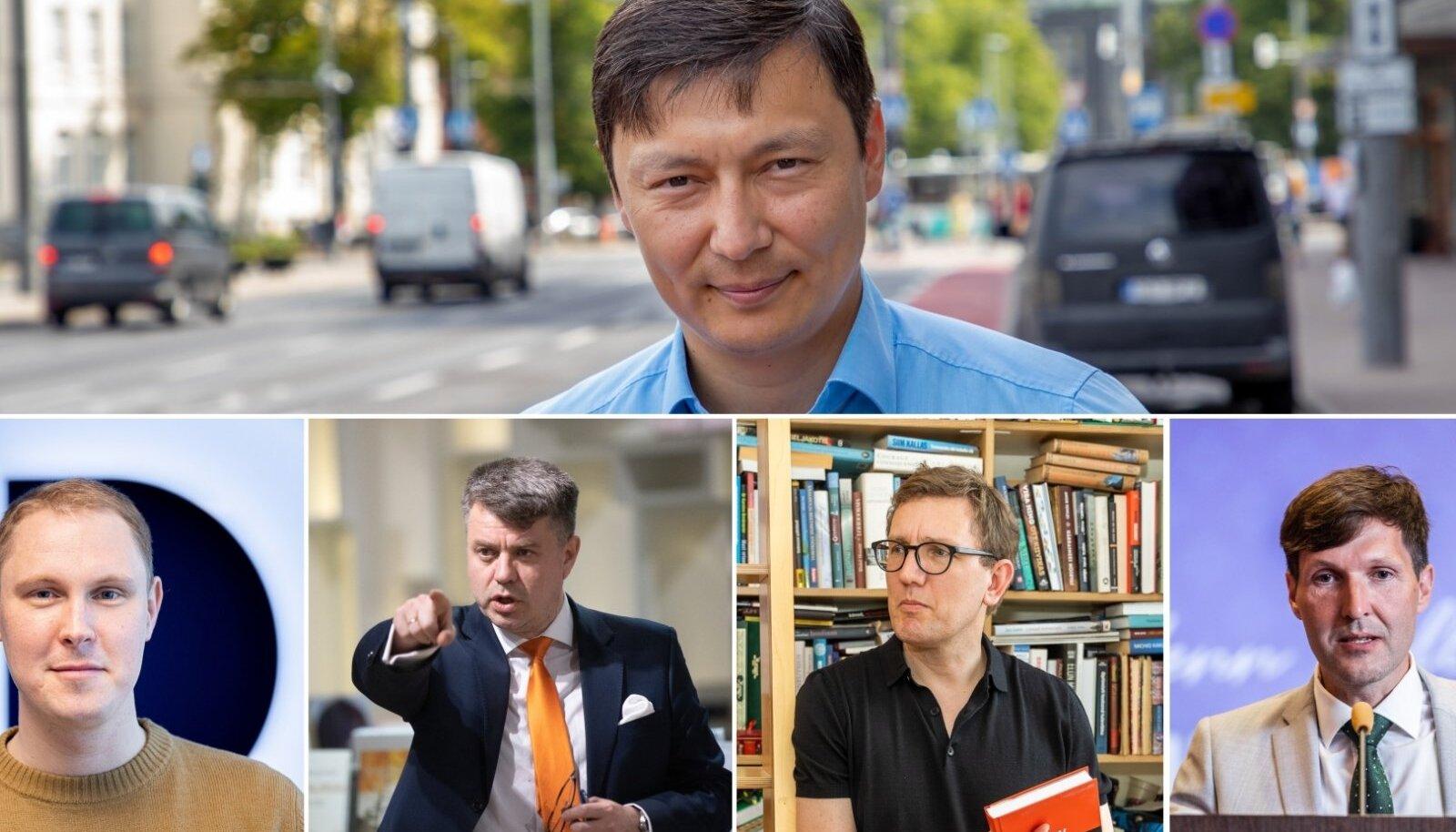 Tallinna linnapeakandidaadid