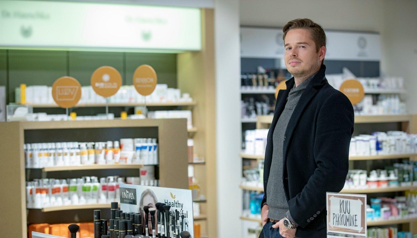 Vestige Verdanti juht Roone Roost ütleb, et ilutoodete seas toob edu kauba kõrge kvaliteet ja luksuslik väljanägemine.