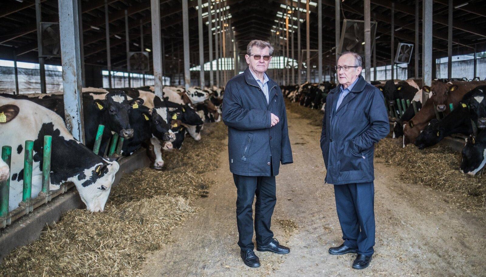 Tartu Agro eestvedajad vennad Aavo ja Mati Mölder