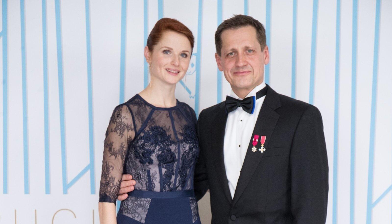 Toomas Edur ja Eesti Rahvusballeti esitantsija Alena Shkatula