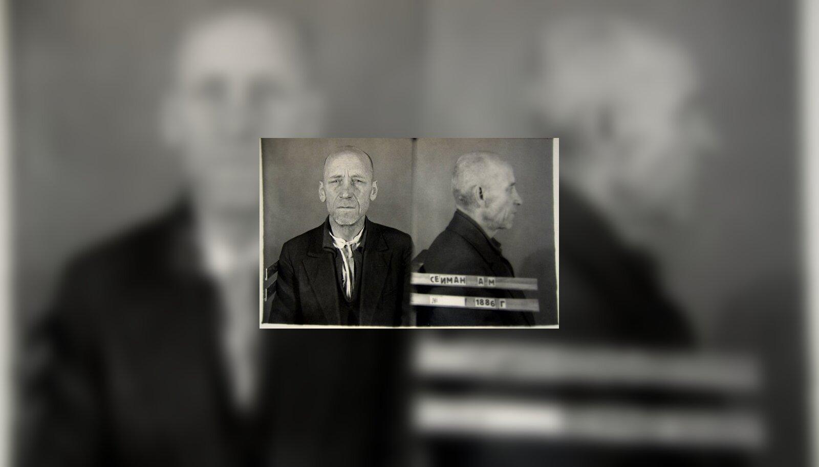11f86bb504d TAAS VANGLAS: Kolonel Aleksander Seiman NKVD vangina 1941. Eesti Filmiarhiiv