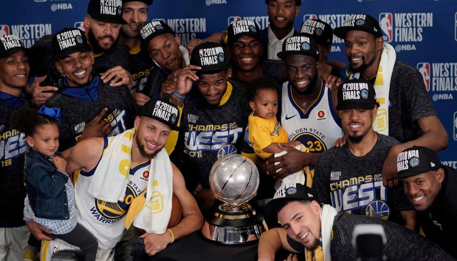 Golden State Warriors mängib taas NBA finaalis.