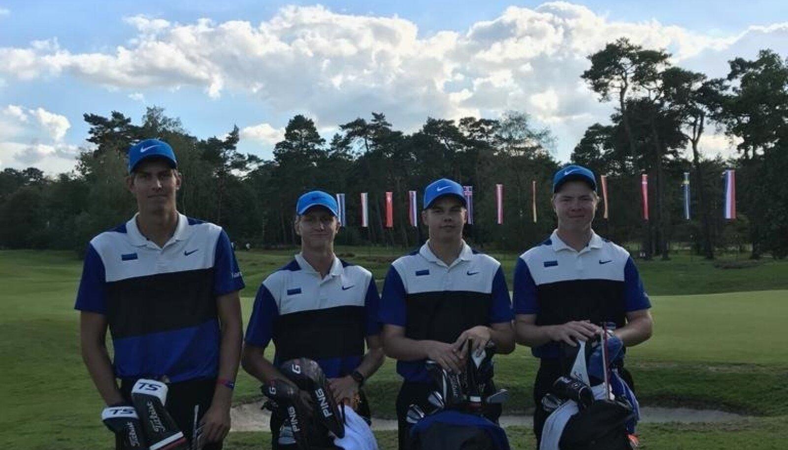 Eesti golfikoondis.