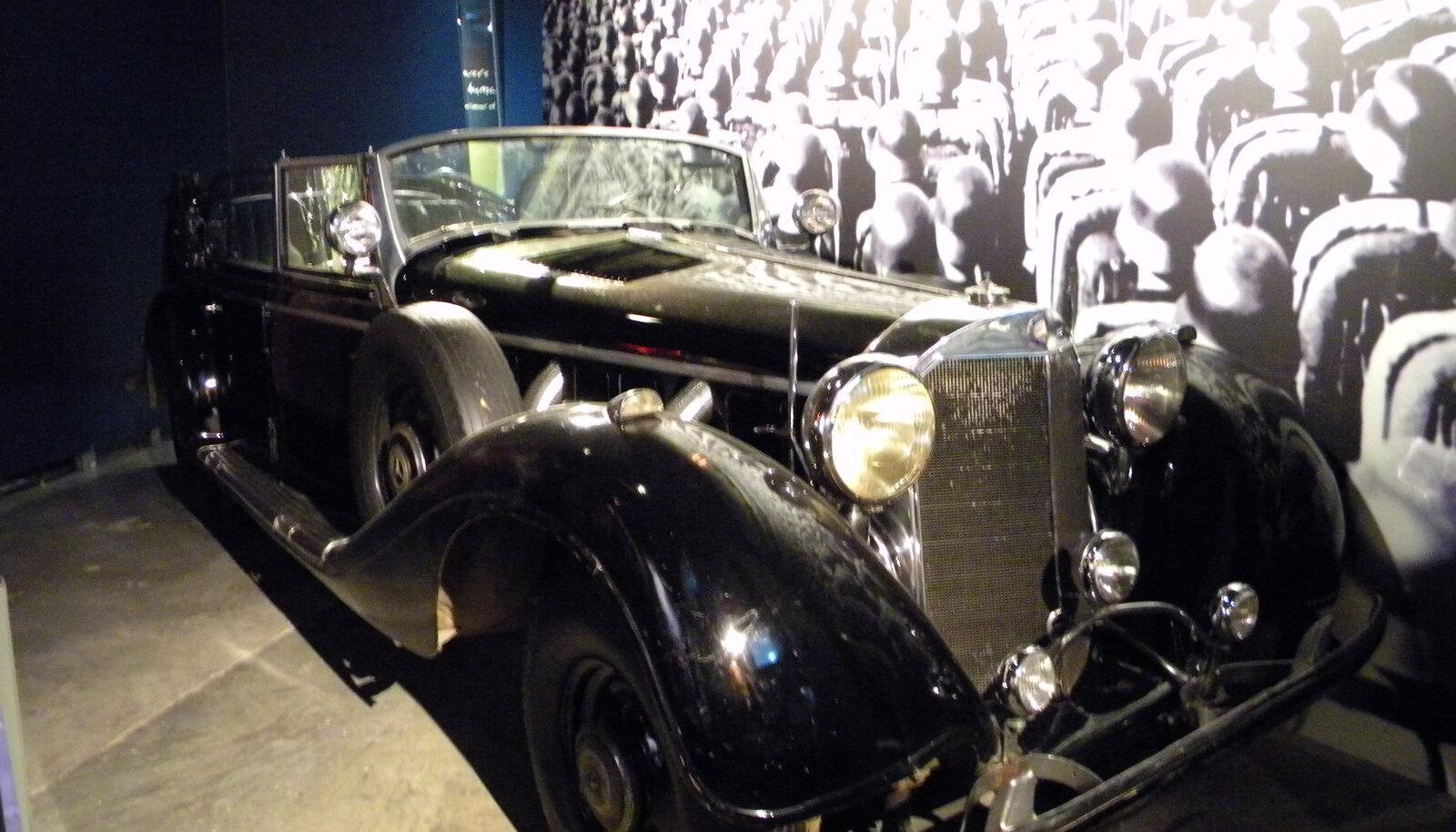 II seeria Mercedes-Benz 770 II, mis oli üks seitsmest Hitlerile kuulunud limusiinist