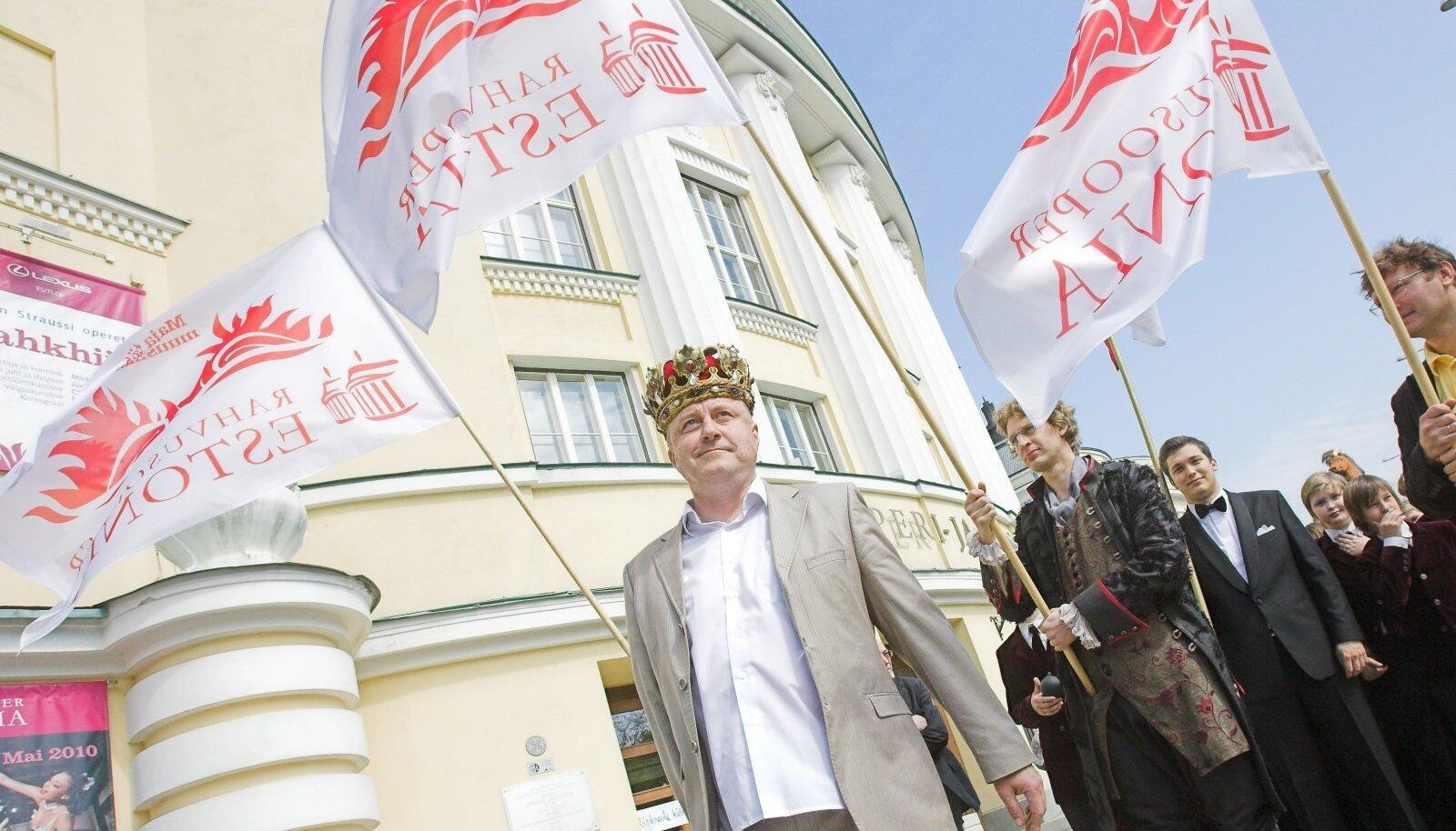 Aivar Mäe juhina jätkamine ei morjenda Estonia suurtoetajaid
