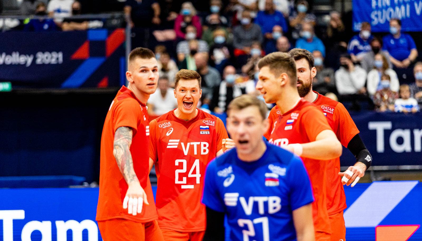 Venemaa koondisel pole EM-il õiget diagonaalründajat, Türgi vastu täitis seda rolli nurgamees Jegor Kljuka, kes tõigi resultatiivseimana 20 punkti.