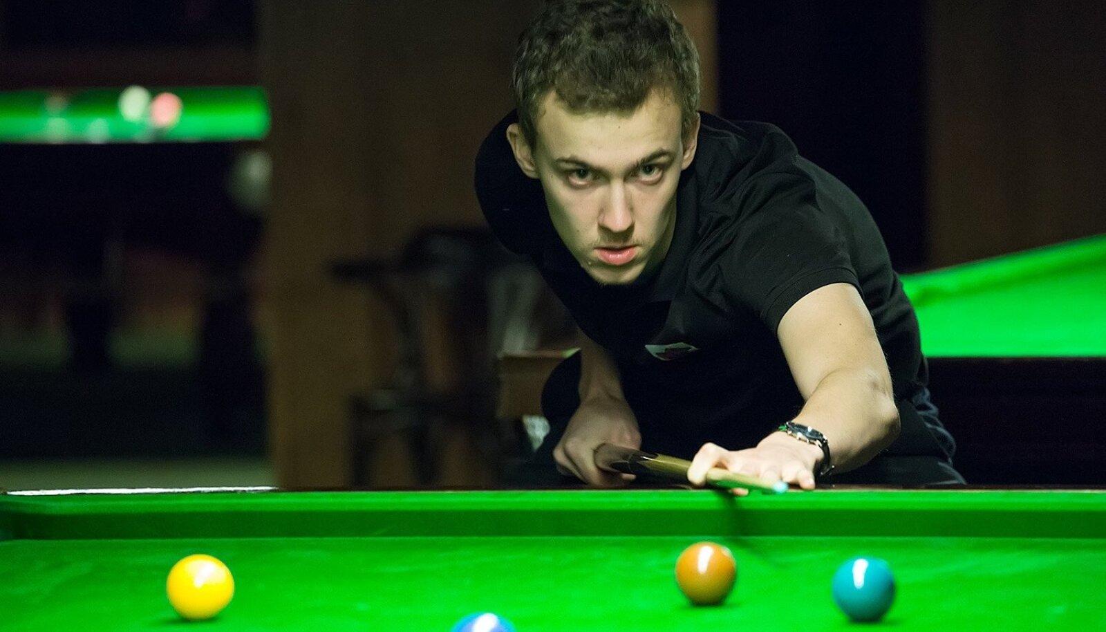 Snuukri amatööride EM-il finaali jõudnud Andres Petrov