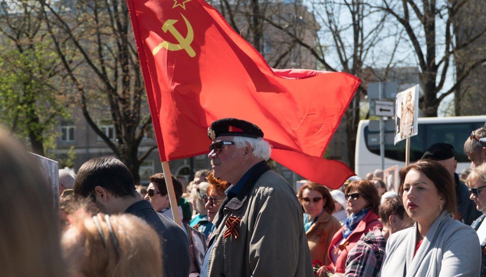 Nõukogude sümboolikale Narvas takistusi ei tehta