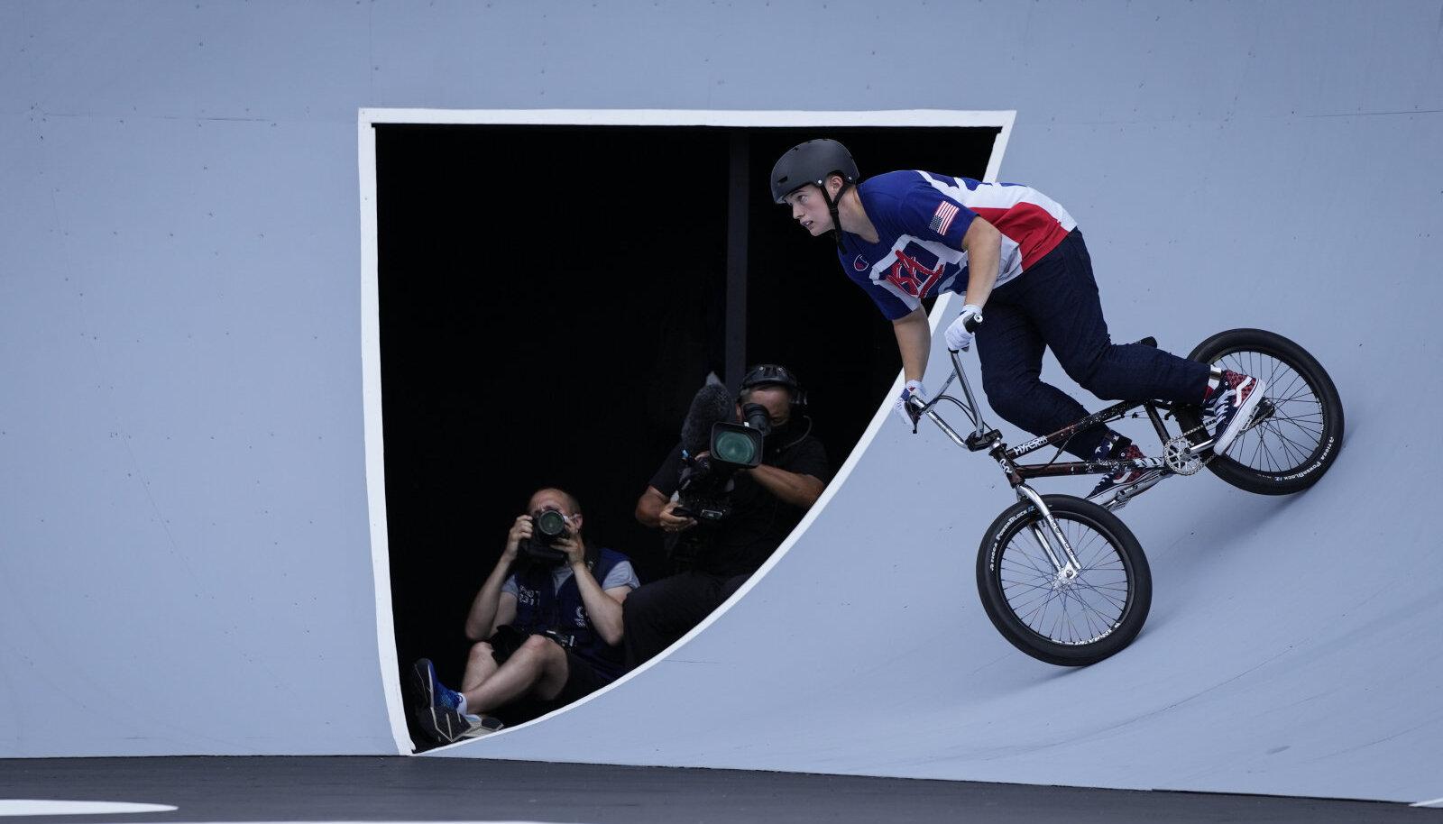 Hannah Roberts Tokyo olümpia eelsõidus.