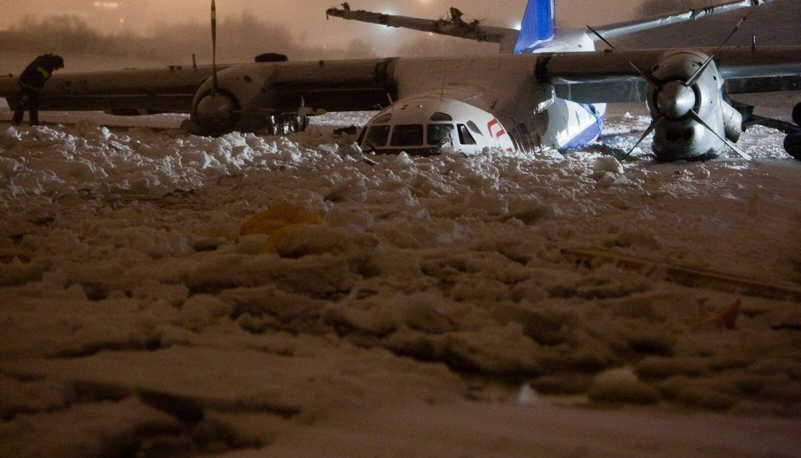 Poola kaubalennuki An-26 laskumine Ülemiste järve jääle 2010. aastal oli siiski õnnetusjuhtum.