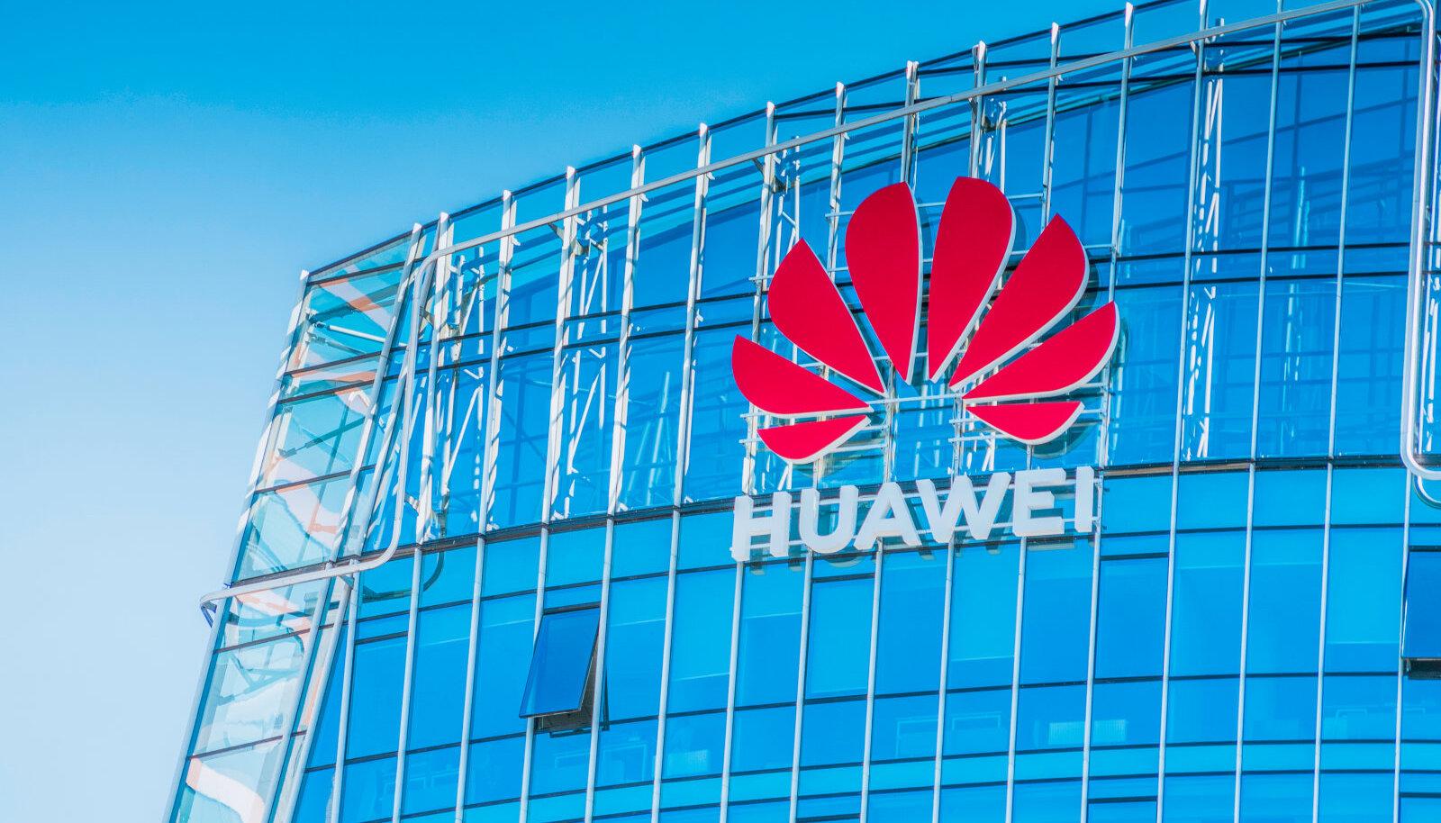 SUUR HIINA PISIKESES balti riigis: Huawei kontor Leedu pealinnas Vilniuses.