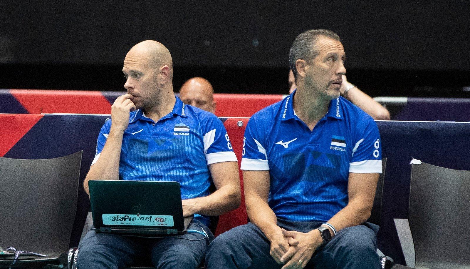 Alar Rikberg ja Mirko Fasini 2019. aasta EM-finaalturniiril Rotterdamis.