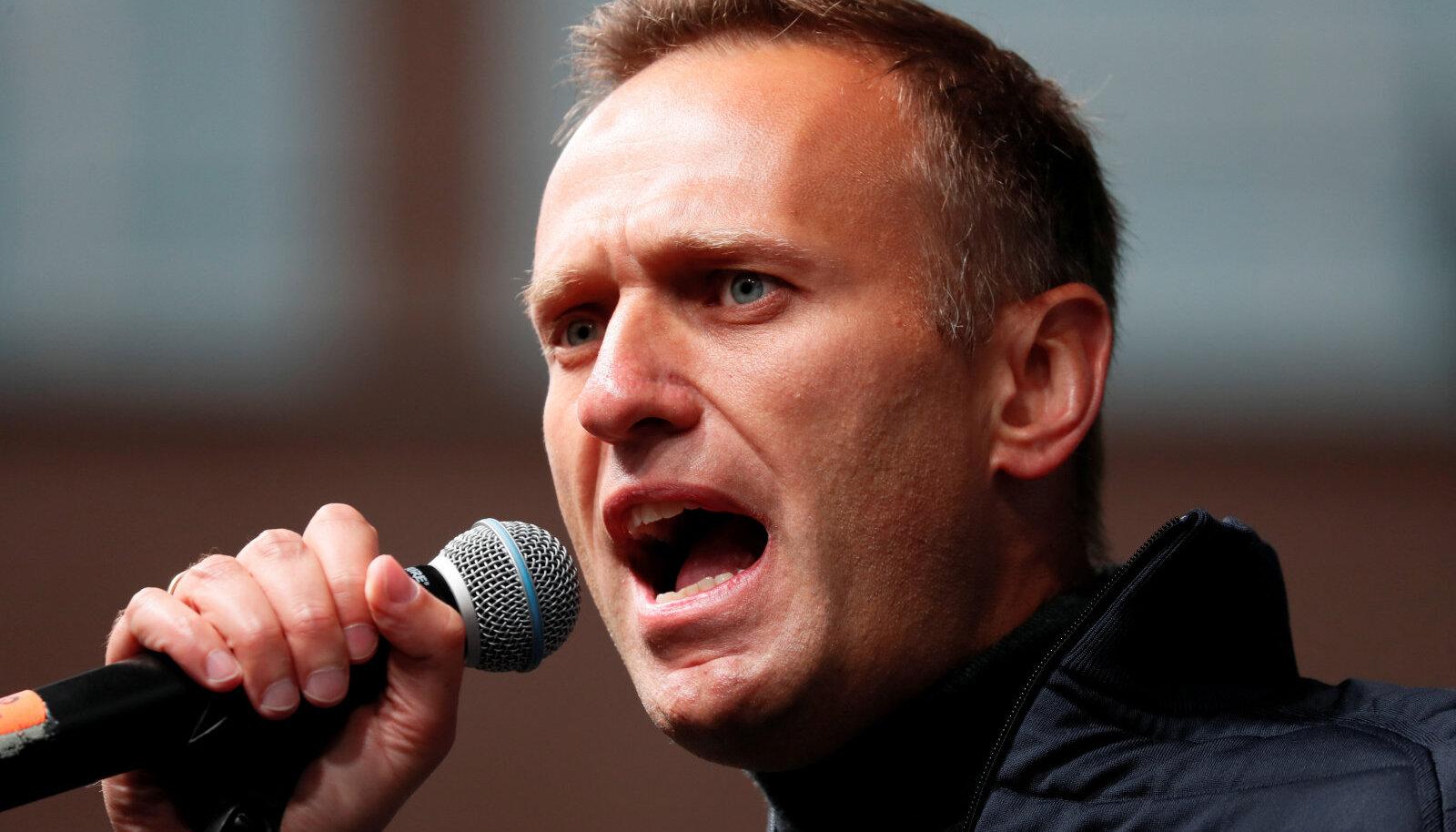 Meenutus ajast, mil Navalnõi veel vabaduses viibis.