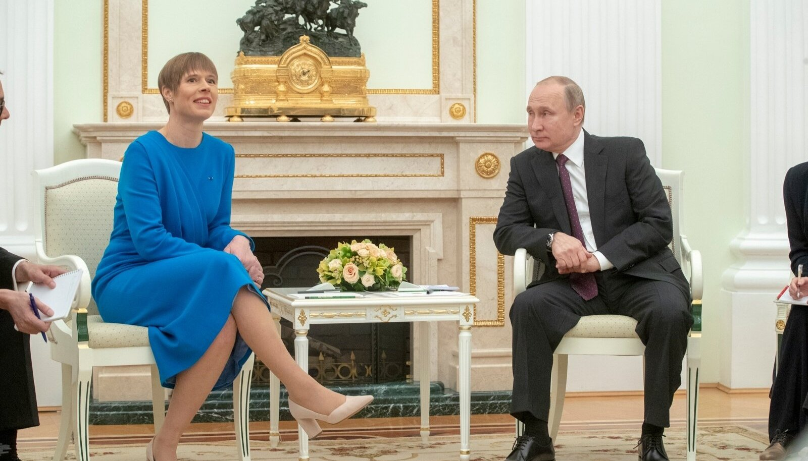 Kersti Kaljulaidi kohtumine Vladimir Putiniga