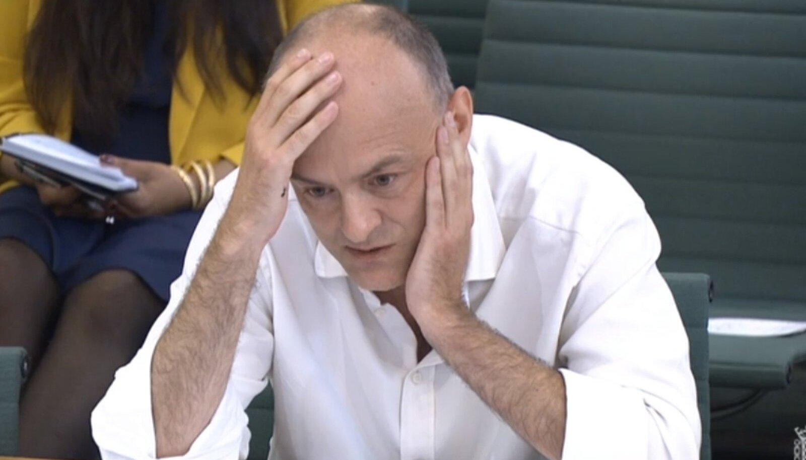 Dominic Cummings ütles, et tahab paluda asjatult surnud inimeste lähedastelt vabandust ka enda tehtud vigade eest.