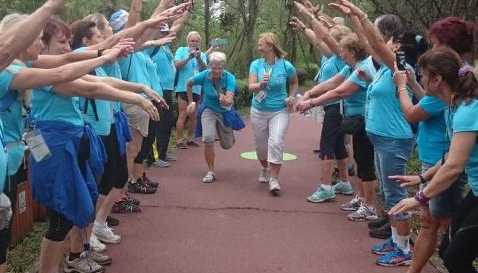 Eesti delegatsioon tervisespordi Olümpiaadil