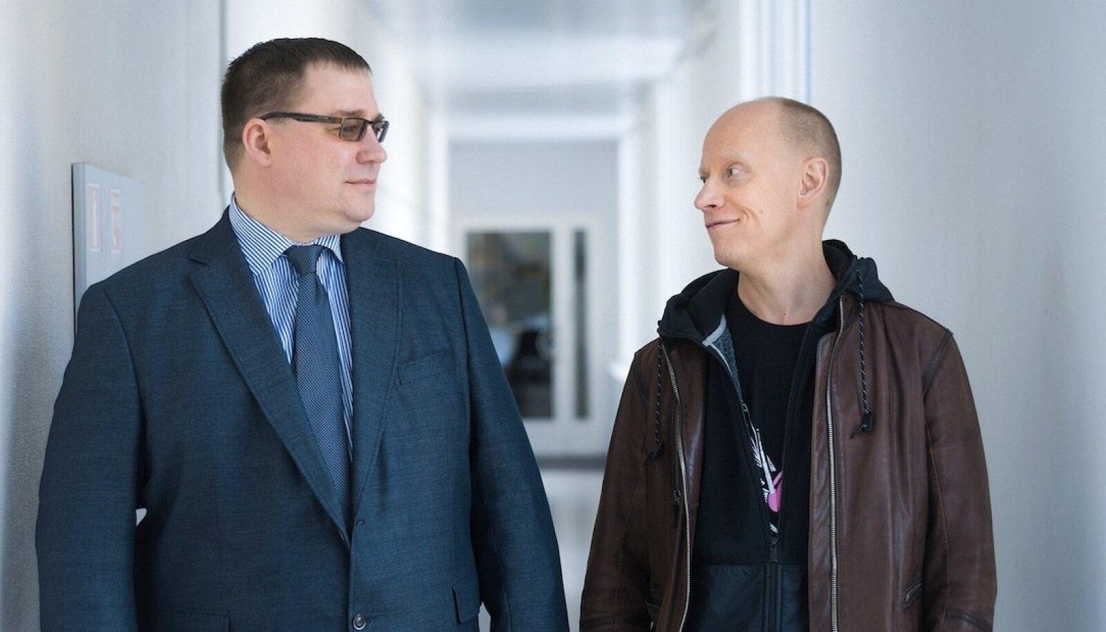 Andrus Karnau, Ahto Lobjakas