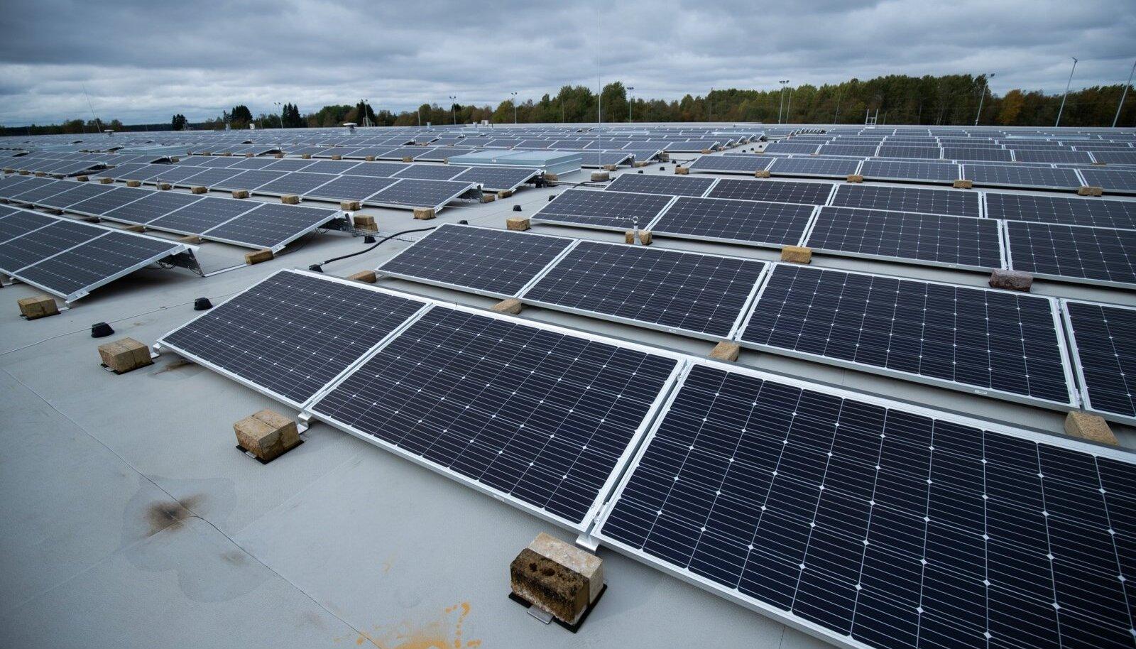Päikesepaneelid Eestis