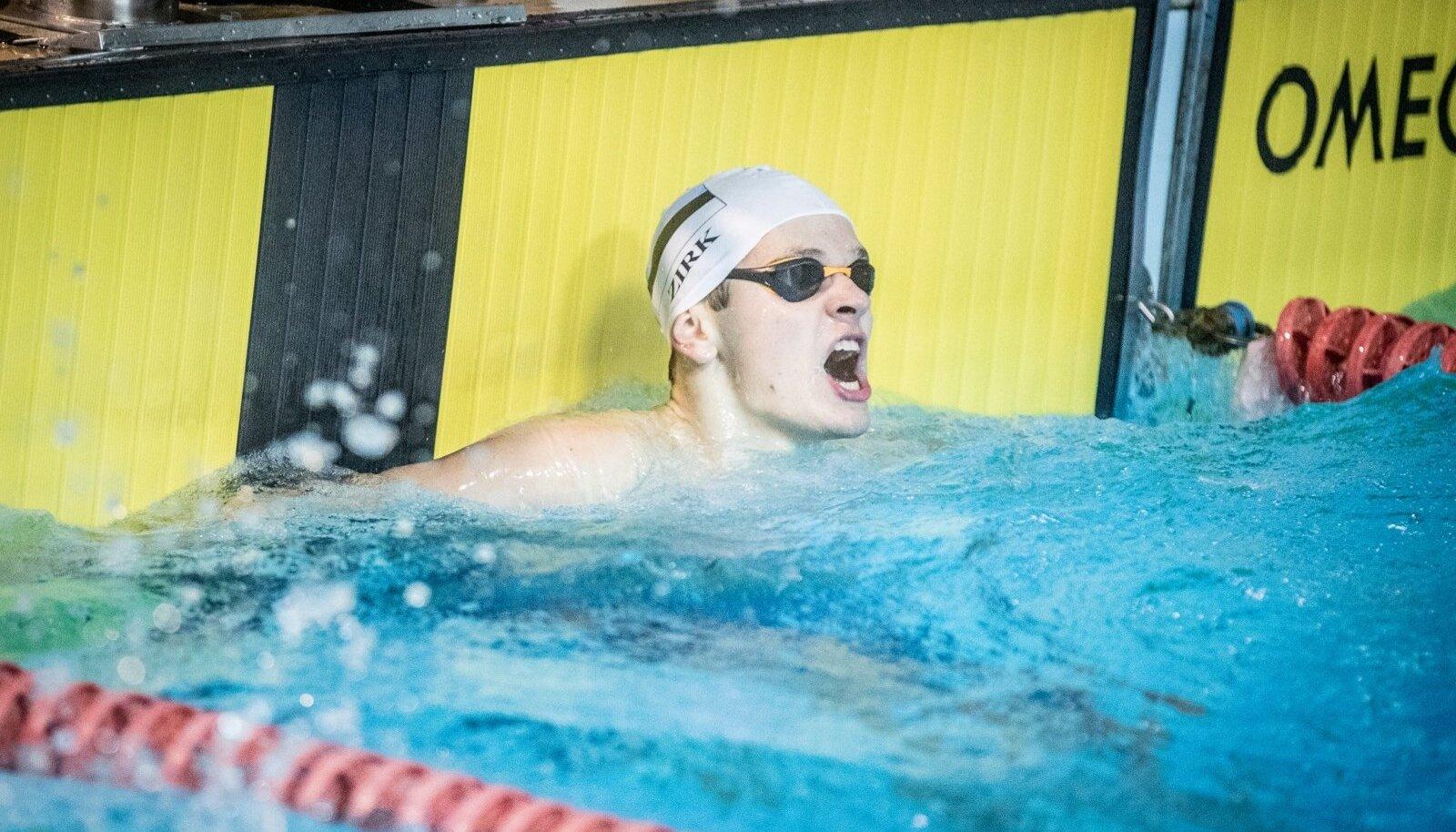 Ujumise Eesti meistrivõistlused Kalev SPA-s. Kregor Zirk